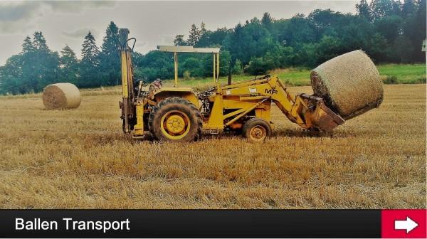 FERGY-FARM LOHNARBEITEN *BALLEN TRANSPORT*