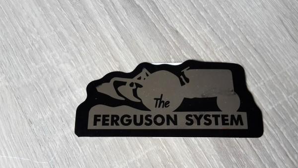 MASSEY FERGUSON AUFKLEBER FERGUSON SYSTEM rechts