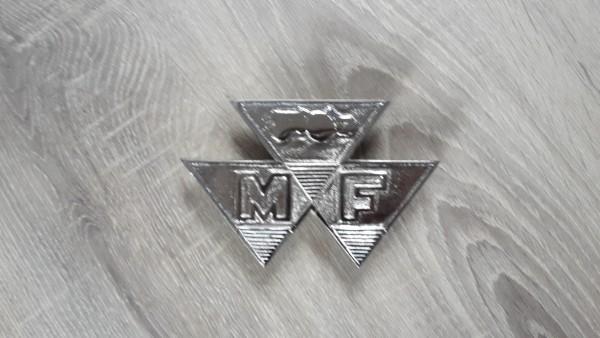 MASSEY FERGUSON GRILL EMBLEM 65/765