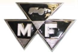 MASSEY FERGUSON GRILL EMBLEM 35